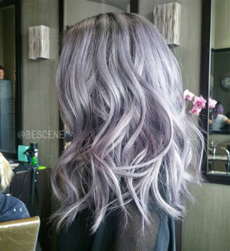 Edgy New Hair Color for Medium Length Hair   PoPular Haircuts