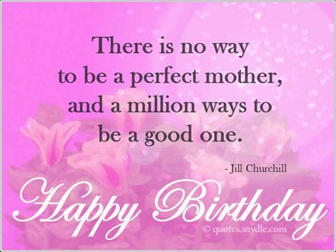 Happy Birthday To Our Quotes Happy Birthday Mom Quotes Quotes And Sayings