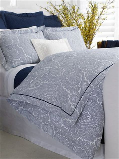 Quilts For Mens Beds Navy Brentwood Paisley Duvet Duvet Covers Home