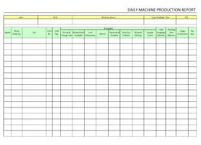 manufacturing work template best photos of daily production sheet template daily