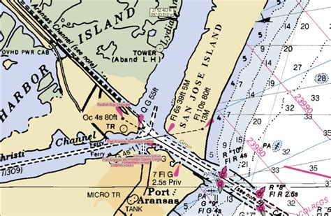 san jose island map port aransas lydia ann2