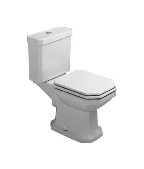 Bidet Eckig by Duravit 1930 Series Coupled Toilet With Cistern