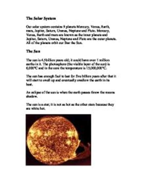 Solar System Essay by Solar System Essay Pics About Space