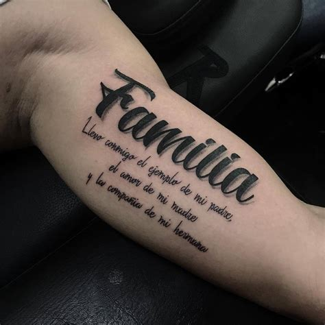 las 25 mejores ideas sobre tatuajes de familia en frase llevo conmigo el ejemplo de mi padre el amor de mi