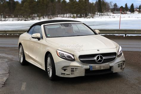2019 Mercedes S Class by 2019 Mercedes S Class Cabriolet Begins Road Testing