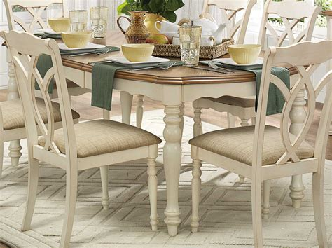 homelegance azalea dining set antique white 5145 dining