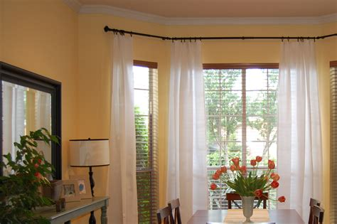 drapery rods for bay windows rods for bay windows ideas bay window curtain rods for