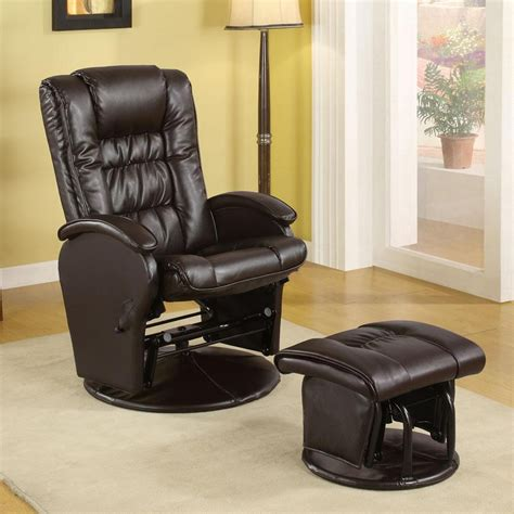 Rocker Glider Recliner by Casual Baby Nursing Glider Rocker Recliner Lounger Brown