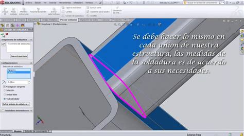Tutorial De Solidworks | tutorial de solidworks simulaci 243 n de fuerzas en una