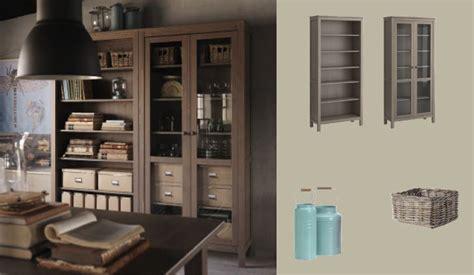 ikea hemnes bookcase gray brown hemnes grey brown bookcase and glass door cabinet my