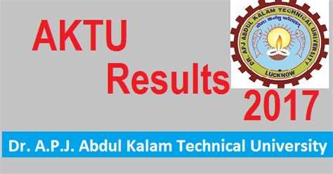 Aktu 1st Sem 2016 2017 Result Mba by Aktu Semester Result 2016 To Be Declared On Monday