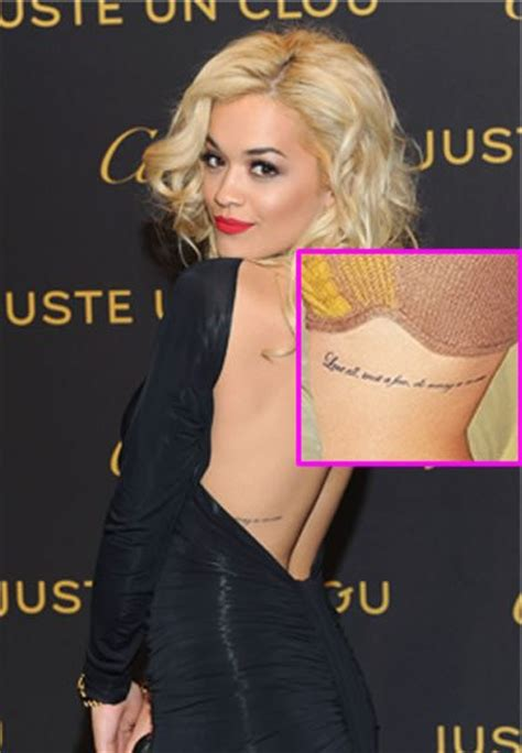 rita ora tattoos 1000 images about desired tattoos piercings on