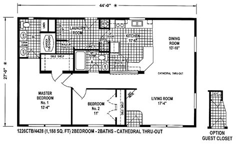 1996 redman mobile home floor plans single wide trailer