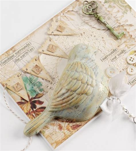 paper mache decoupage 3 d bird detail using decoupage papier mache how to