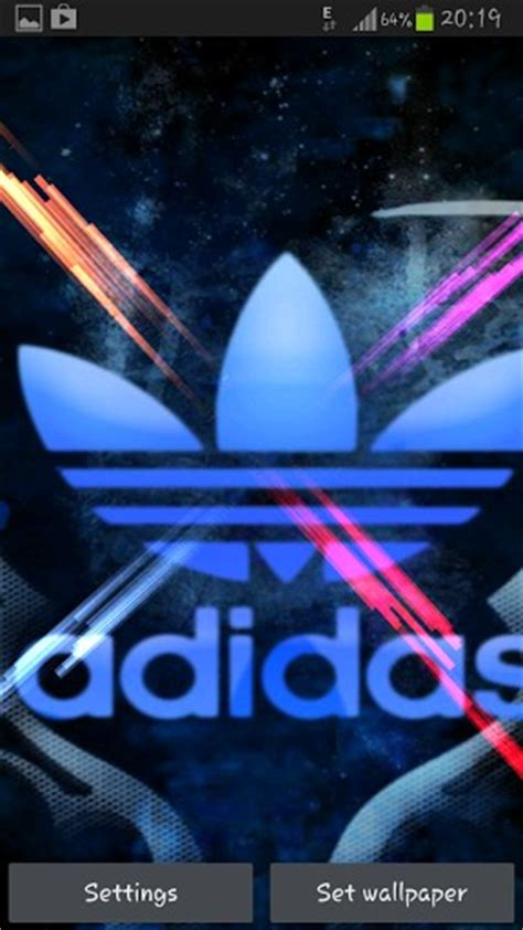 new themes live adidas live wallpaper app for android