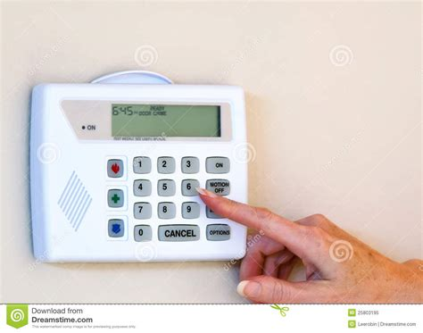 home security alarm royalty free stock photo image 25803195
