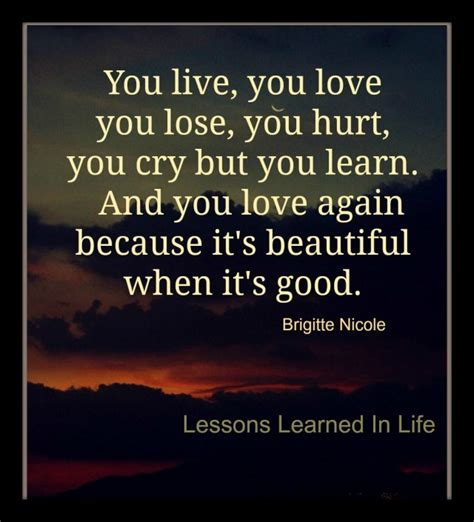 7 Lessons To Learn From Losing Your by Lessons Learned In Lifeyou Live You You Lose You