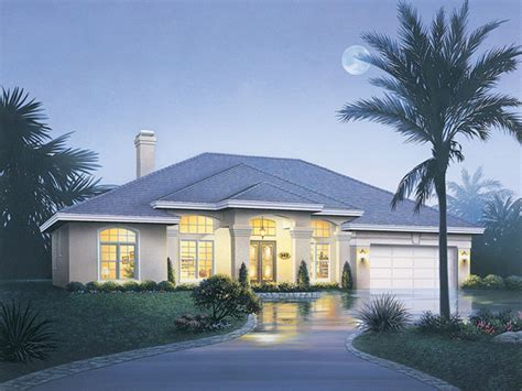 way florida style home plan 048d 0008 house plans