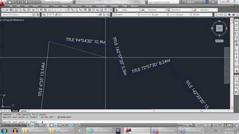 tutorial autocad land development autocad tutorial how to draw site title boundary youtube