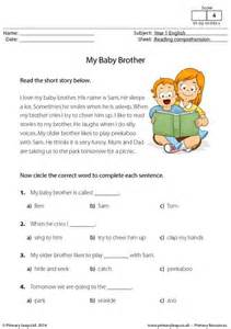 year 2 reading comprehension worksheets laptuoso