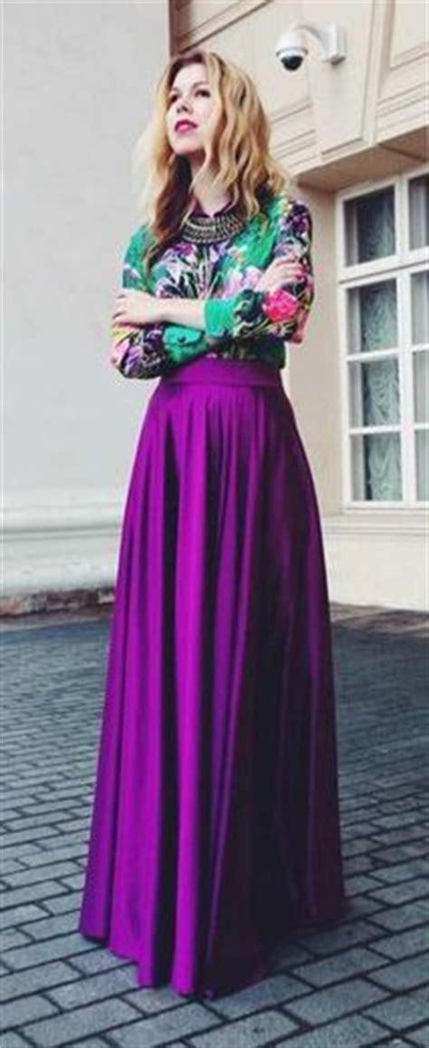 Wulan Maxi purple satin maxi skirts and satin on