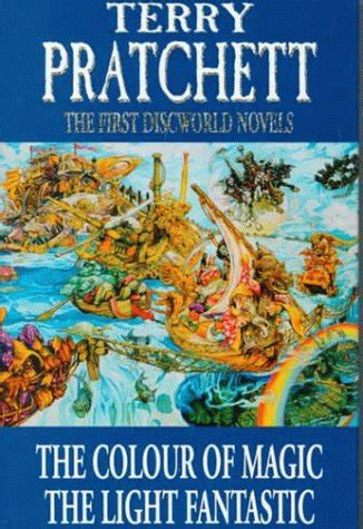 the color of magic book the discworld novels the colour of magic and the