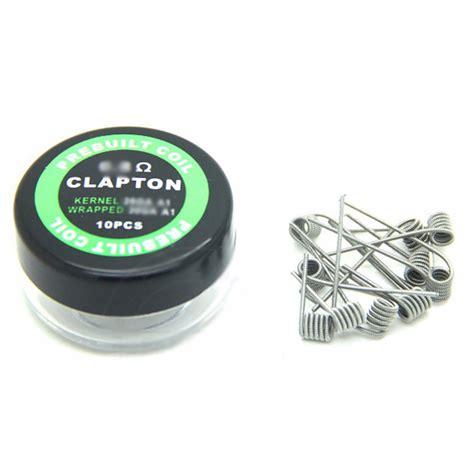 Prebuilt Coil Clapton Wire 10pcs Prebuilt Coil Clapton Wire 26ga 30ga 0 8 Ohm 10pcs Jakartanotebook