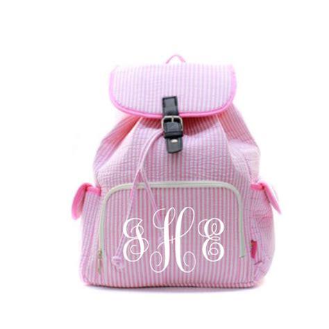 personalized book bag monogrammed book bag back pack back