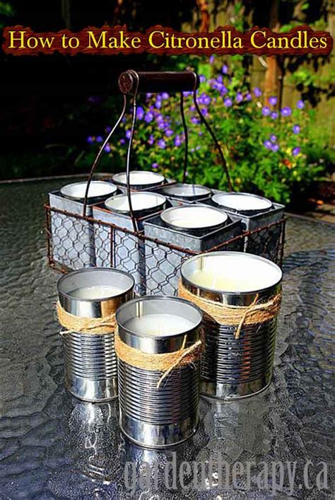 How To Make A Citronella L how to make citronella candles lil moo creations