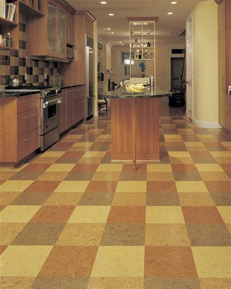cork floors in kitchen cork flooring home design and decor reviews