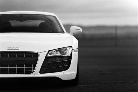 audi logo black and white black and white white cars audi monochrome audi r8