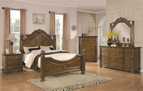 light oak 5pc california king bedroom set dovetail free
