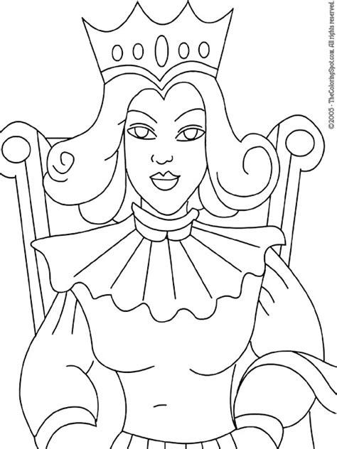 preschool queen coloring page best photos of queen coloring pages king and queen