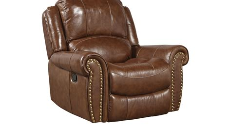 leather recliner glider 599 99 abruzzo brown leather glider recliner