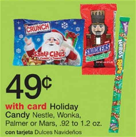 walgreens christmas candy mars free at walgreens