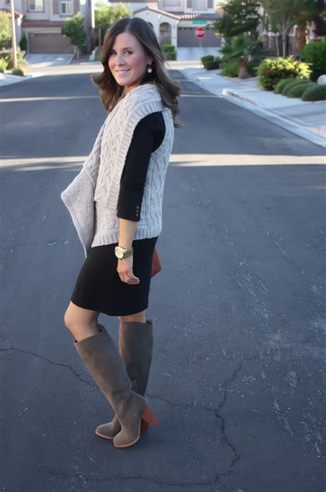 Boots Anak Piotex Grey Suede Babypink 1 what sweater to wear with black dress gray cardigan sweater