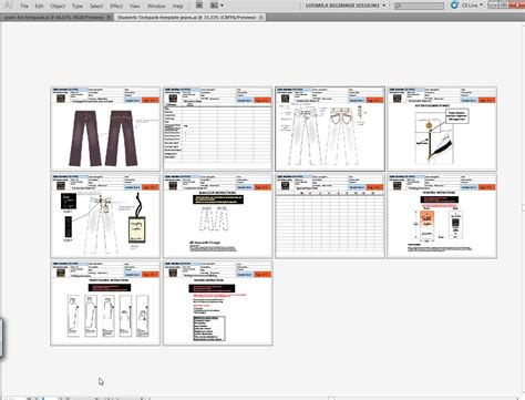 tech packs with adobe 174 illustrator 174 for fashion design