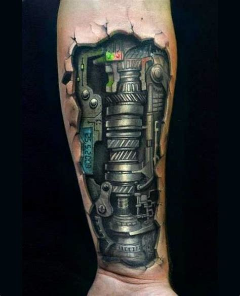 tattoo biomechanical 3d sleeve love tattoos and what kind of on pinterest