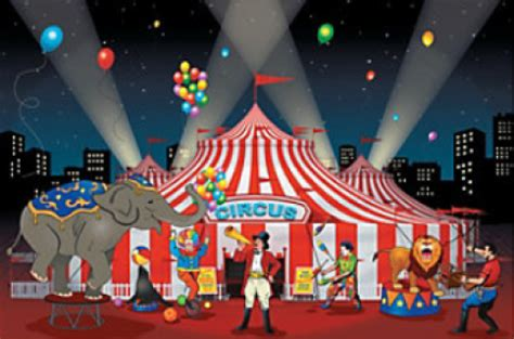 Carnival Themed Table Decorations Carnival Props Circus Party Backdrops Standees Large Party