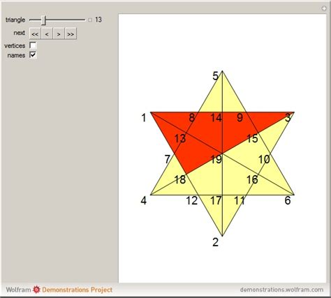 how many triangles are there in this diagram wolfram demonstrations project
