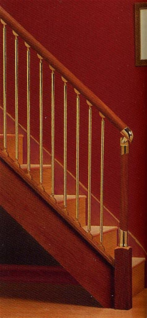 fusion banister fusion handrail system for staircases fuision stairparts