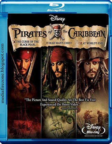 the pirates of the caribbean series bot movies pirates of the caribbean 1 2 3 4 movie
