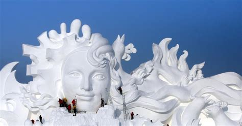 harbin snow and ice festival 2017 2017 harbin ice and snow festival photos inside the