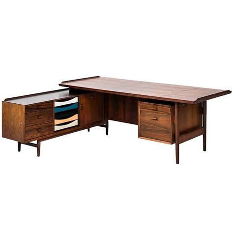 vintage l shaped desk arne vodder l shaped desk with sideboard model 209