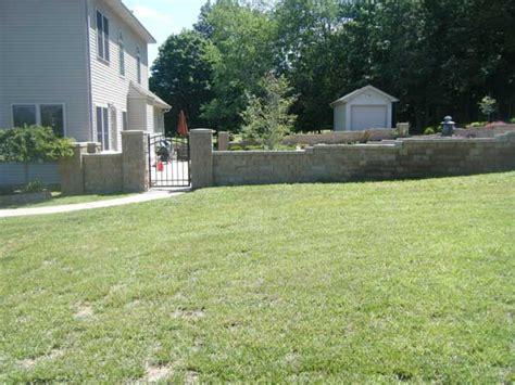 backyard flooding solutions backyard flooding solutions retaining wall solves backyard