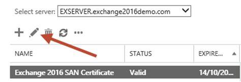 exchange 2016 assign ssl certificate 02 practical 365