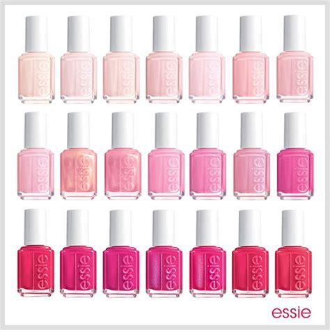 all shades of pink all shades of pink essie nail polish mani trendy