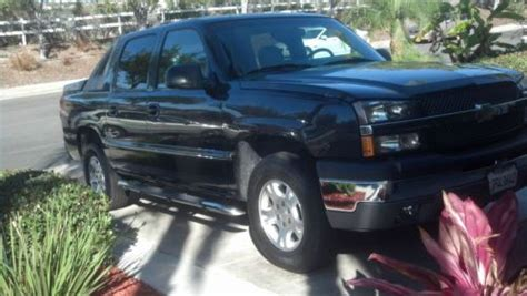 find used 2003 chevy avalanche 1500 z 66 2wd for sale in carlsbad california united states