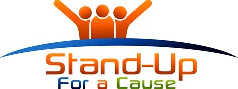 standing up stand up for a cause