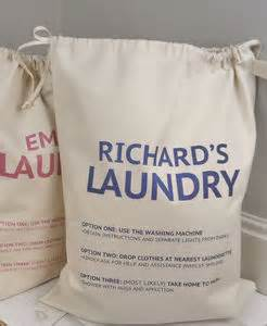 Laundry Hers Uk Personalised Laundry Bags And Baskets Notonthehighstreet